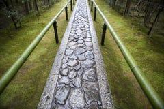 De Weg van de Tempel van Zen Stock Afbeelding
