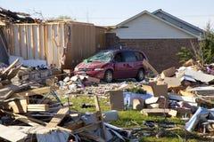 De weg van de tornado Royalty-vrije Stock Afbeeldingen