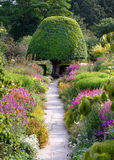 De weg van de tuin royalty-vrije stock foto's