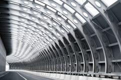 De weg van de tunnel Royalty-vrije Stock Afbeeldingen