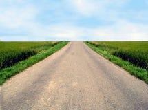 De weg van de vrijheid Stock Afbeeldingen