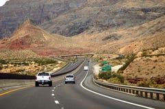 De weg van de weg stock foto