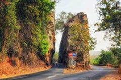 De weg van Ghana stock foto