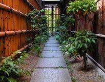 De weg van Gion Royalty-vrije Stock Fotografie