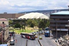 De Weg van Grancolombia in Quito, Ecuador Royalty-vrije Stock Foto