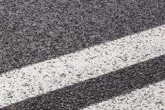 De weg van het asfalt Stock Foto
