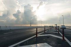De weg van het asfalt Royalty-vrije Stock Foto