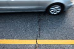 De weg van het asfalt Royalty-vrije Stock Afbeelding