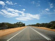 De weg van het binnenland Royalty-vrije Stock Foto