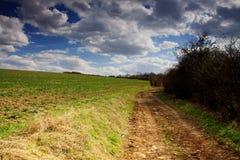 De weg van het gebied Stock Afbeelding