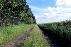 De weg van het gebied Stock Foto