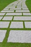 De weg van het graniet Royalty-vrije Stock Foto