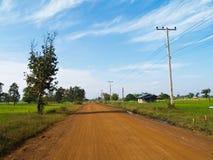 De weg van het grint Royalty-vrije Stock Afbeelding
