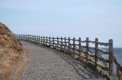 De weg van het kasteel stock foto