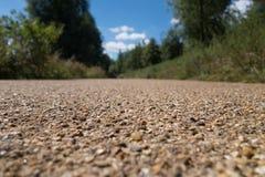 De weg van het koninginelizabeth park Stock Afbeeldingen