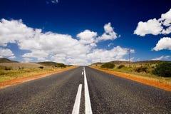 De weg van het land Stock Afbeeldingen
