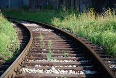 De weg van het spoor Stock Afbeeldingen