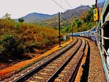 De weg van het spoor Royalty-vrije Stock Foto's