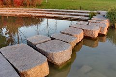 De weg van het steenblok Royalty-vrije Stock Fotografie