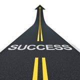 De weg van het succes Royalty-vrije Stock Afbeelding