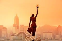 De Weg van Hongkong van Sterren Stock Afbeelding
