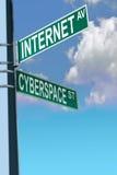 De Weg van Internet Stock Afbeelding