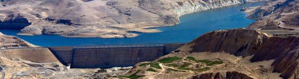 De weg van koningen - Jordanië Stock Foto's
