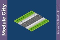 De weg van de landschapssnelheid Vector Illustratie