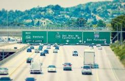 De Weg van Los Angeles Stock Fotografie
