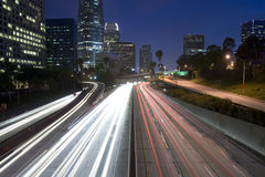 De weg van Los Angeles Stock Afbeeldingen