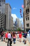 De Weg van Michigan, Chicago Stock Afbeeldingen