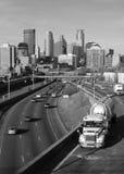 De weg van Minneapolis Stock Afbeeldingen