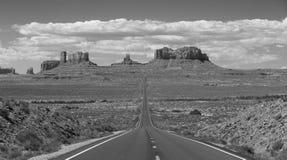 De Weg van de monumentenvallei Stock Foto's