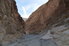 De Weg van de mozaïekcanion in Doodsvallei Stock Afbeelding