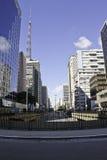 De Weg van Paulista Stock Foto's