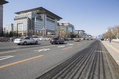 De Weg van Peking Chang'an Royalty-vrije Stock Foto