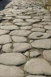 De weg van Pompei Stock Foto's