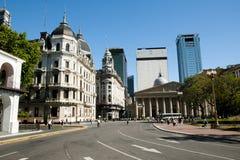 De Weg van Rivadaviabolívar - Buenos aires - Argentinië Stock Afbeeldingen