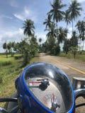 De weg van Thailand royalty-vrije stock foto's