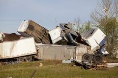 De weg van Tornadoe Royalty-vrije Stock Foto's