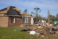 De weg van Tornadoe Royalty-vrije Stock Afbeeldingen