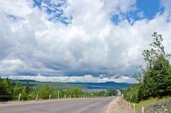 De weg van TransCanada Royalty-vrije Stock Afbeelding