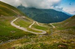 De Weg van Transfagarasan, Roemenië Royalty-vrije Stock Fotografie