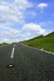 De weg vooruit stock afbeelding