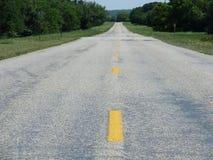 De weg vooruit Stock Fotografie