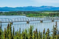 De Wegbrug van Alaska royalty-vrije stock fotografie