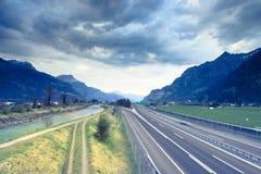 De wegen stock afbeelding