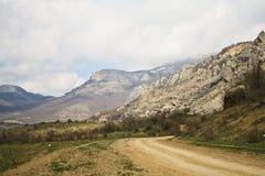 De wegen van de berg Royalty-vrije Stock Afbeelding
