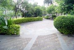 De wegen van de tuin stock afbeeldingen
