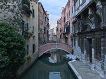 De wegen van Venetië Stock Afbeeldingen